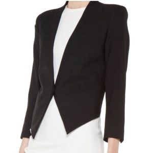 HELMUT LANG - Smoking Wool Tux Blazer